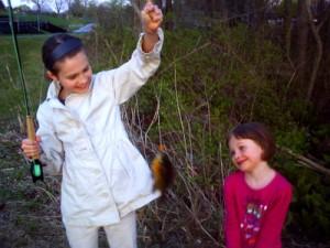 Teaching them how to fish