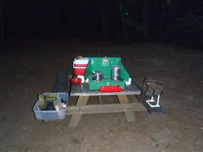 Campground setup