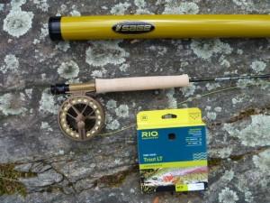 Sage, Sage Circa Rod, Sage Click Reel, Rio Trout LT, 3 wt