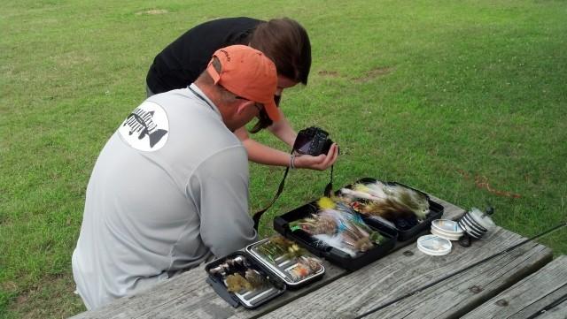 Frank DeGrazio, Lake Kenoshia, On The Fly, warmwater flyfishing, bass, bream, poppers, kayak fishing