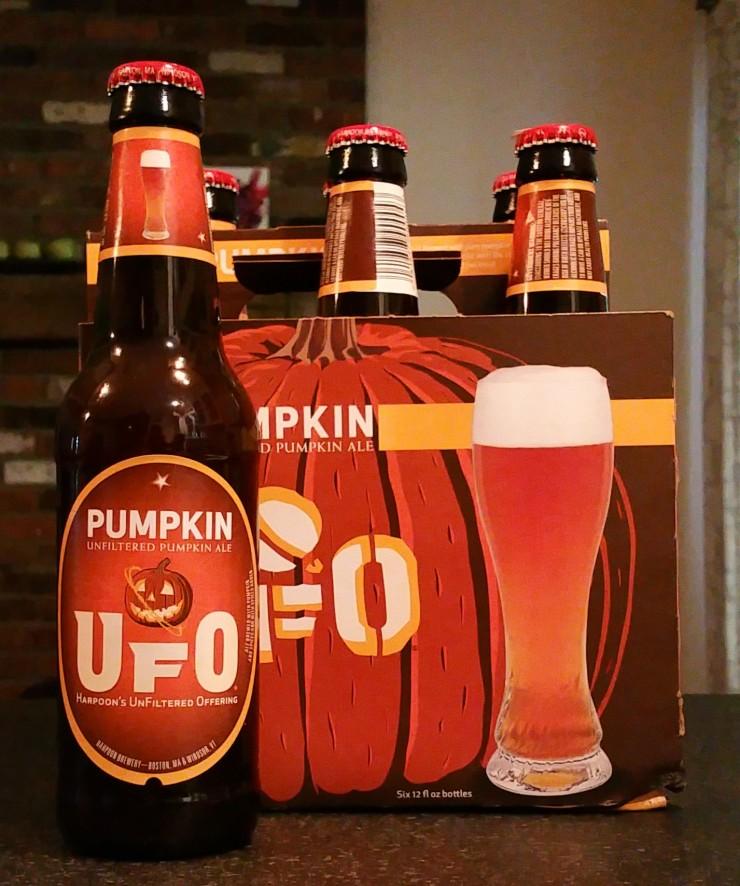 UFO Pumpkin ale, Harpoon Brewery, pumpkin ale, finfollower