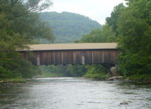 Willowemoc River Covered Bridge #finfollower
