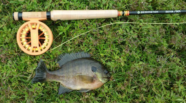 Redington ZERO Reel, fly fishing reel, fly fishing, finfollower, Redington Butter Stick, warmwater fly fishing, bream, sunfish, bluegill, panfish, streamer fishing