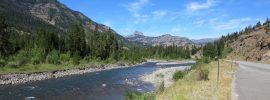 Upper Shoshone River, FinFollower, wild trout, Yellowstone, hopper dropper