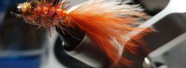 Goblin streamer, #spookystreamer, fall fly fishing